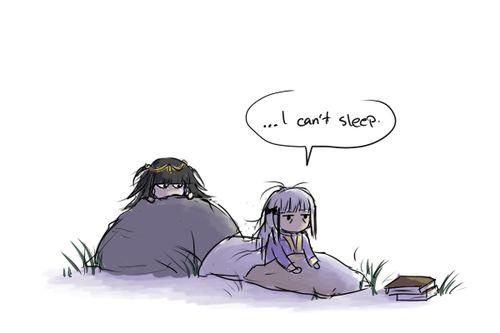 Female Robin (Avatar) Can't Sleep - Tharja, stop stalking Robin.