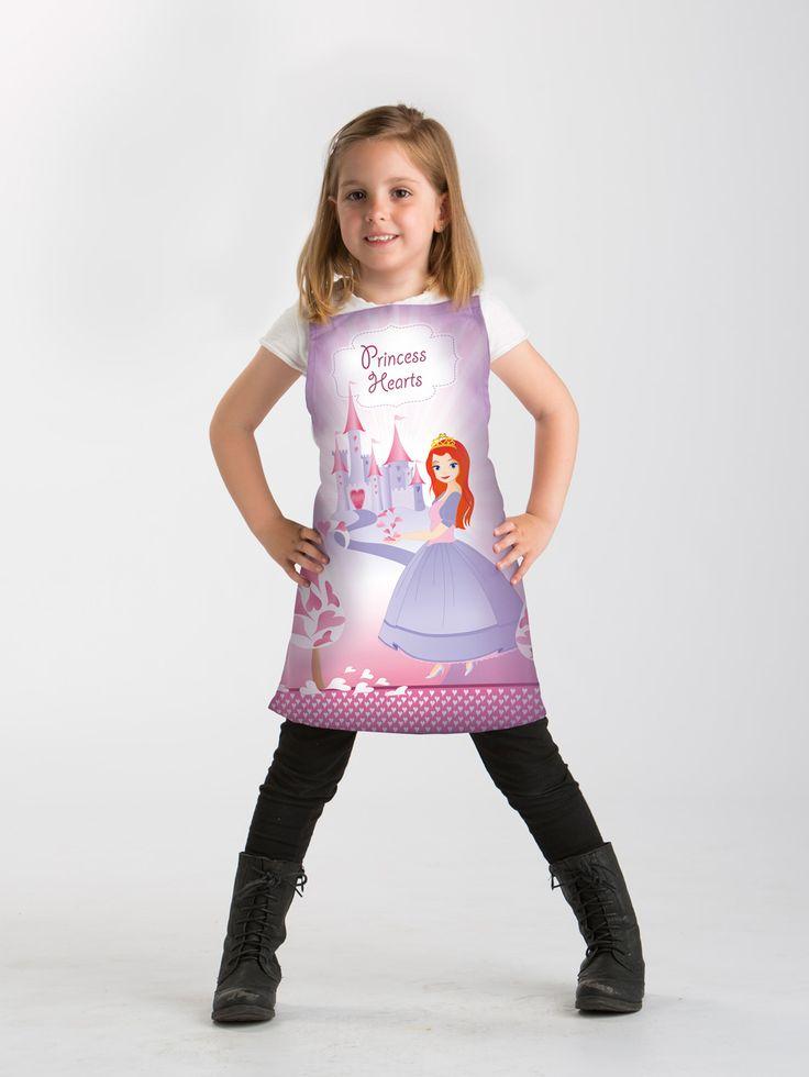 Delantal Infantil Princesa