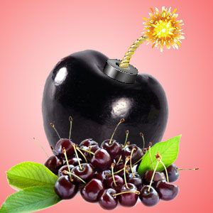 Black Cherry BOMB Fragrance Oil - http://www.naturesgardencandles.com/candlemaking-soap-supplies/item/rf-9001/-black-cherry-bomb-fragrance-oil.html