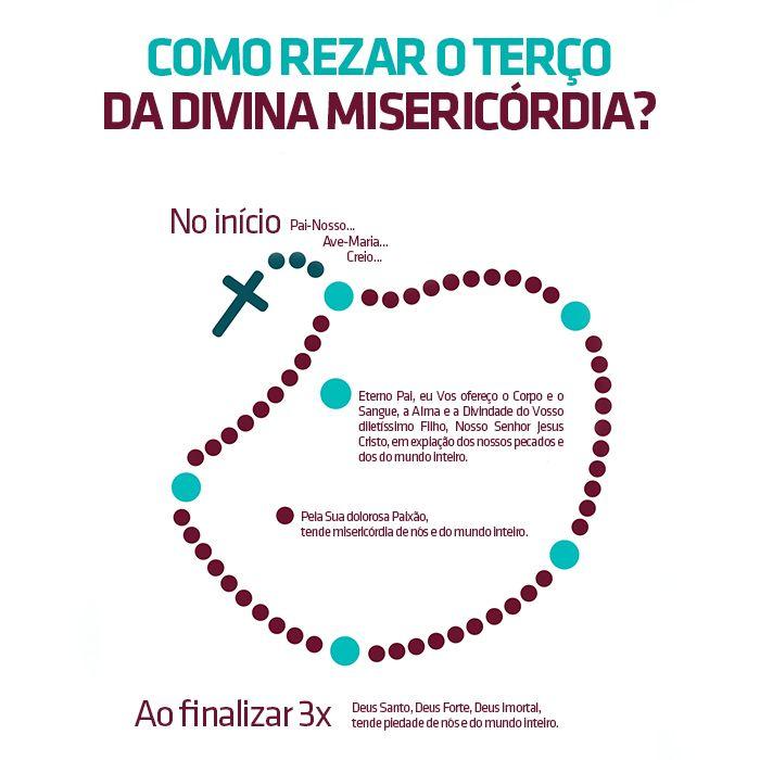 Terço da Divina Misericórdia em português