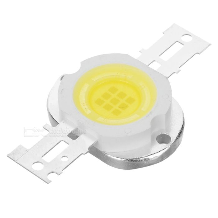 10W 7000K 750-Lumen 9-LED White Light Bulb (DC 9~11V). Property Value Material: Red copper + silicone Emitter Type: LED Total Emitters: 9 Power: 10W Color BIN: White Rated Voltage: DC 9~11V Luminous Flux: 750LM Color Temperature: 6500~7000K. Tags: #Lights #Lighting #Bulbs #and #Strips #LED #Bulb #Parts #Leds