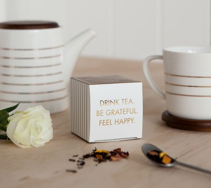 Drink Tea. Be Grateful. Feel Happy. kikki.K's new Homewares and Limited Edition kikki.K x T2 Soder Tea are for enjoying the little things. www.kikki-k.com