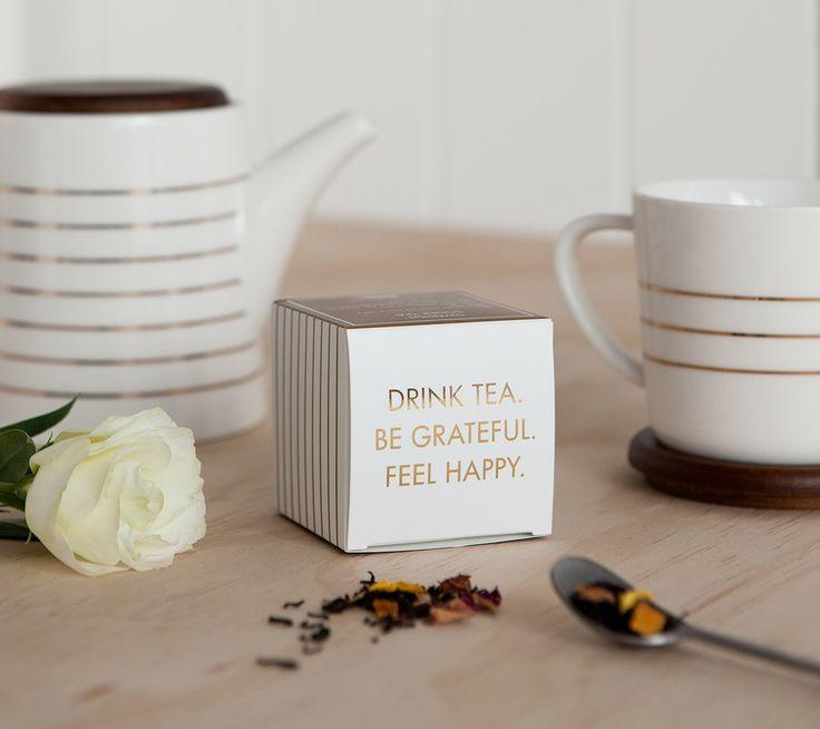 Drink Tea. Be Grateful. Feel Happy. kikki.K's new Homewares and Limited Edition kikki.K x T2 Soder Tea are for enjoying the little things. www.kikki-k.com