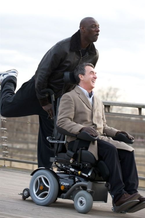 Intouchables -  in love with this movie - on Netflix in French with English subtitles - real people!