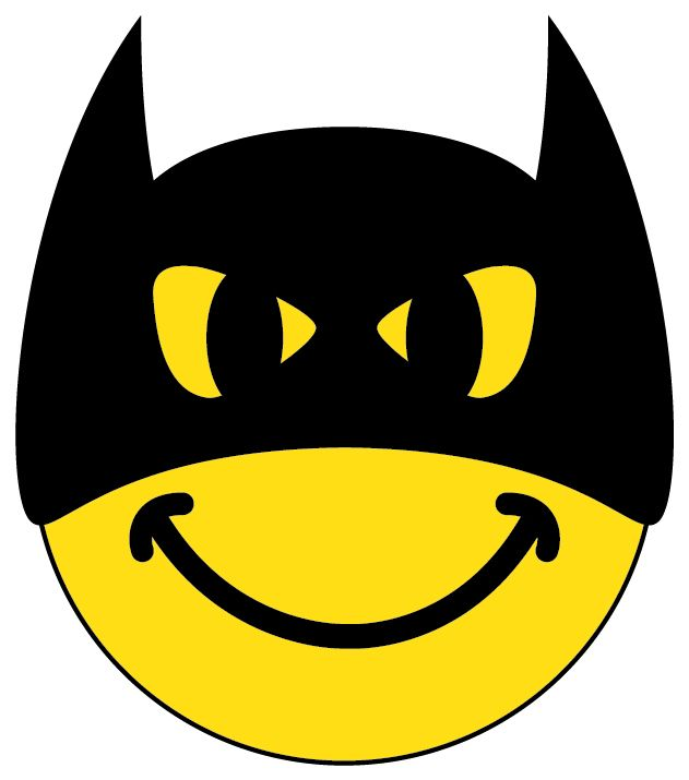 Character smileys - Batman - Smiley Face Place