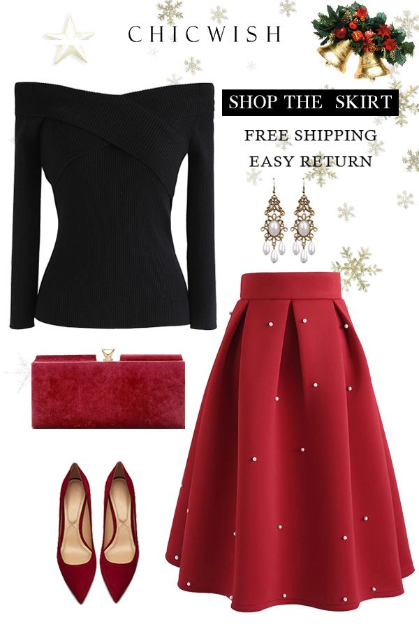 8db6ac6420 Free Shipping & Easy Return. Up to 30% Off. Pearls Bliss Airy Pleated Midi  Skirt.