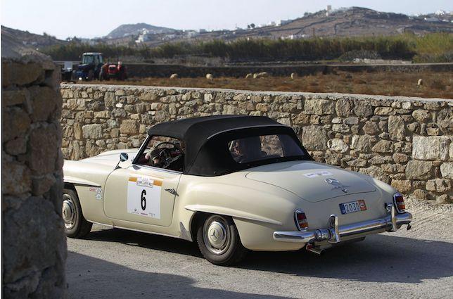 Mykonos Olympic Classic Rally