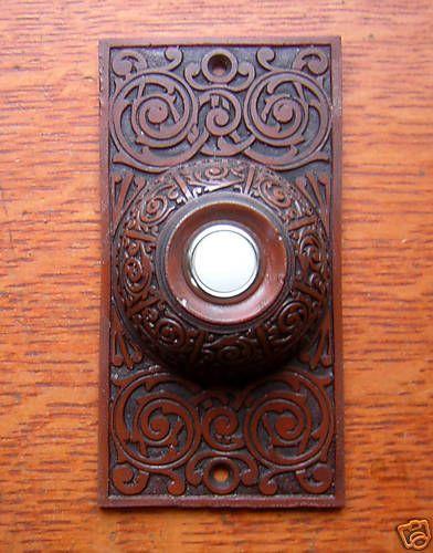 New Victorian Craftsman \ Elegance\  Doorbell Button & 83 best Craftsman Style Doorbells Knockers \u0026 Mailboxes images on ...