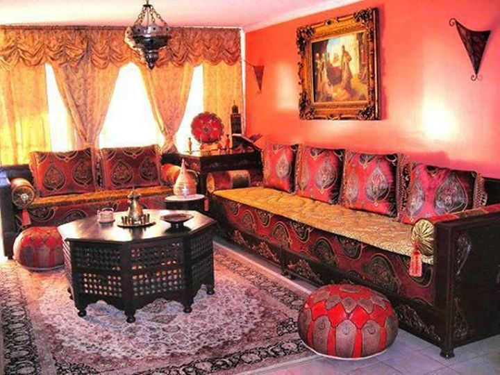 A Dining Room There Are Eight Chairs In The Dining Room A Living Room There  Is A Lovely Moroccan Living Room.