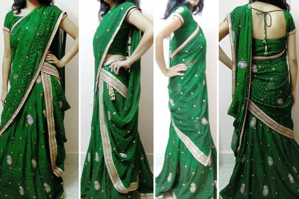 Different Ways to Drape a Bridal Lehenga Dupatta in Style
