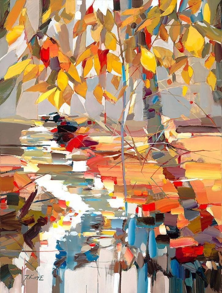 Josef Kote -  I love the uniqueness in this painting.