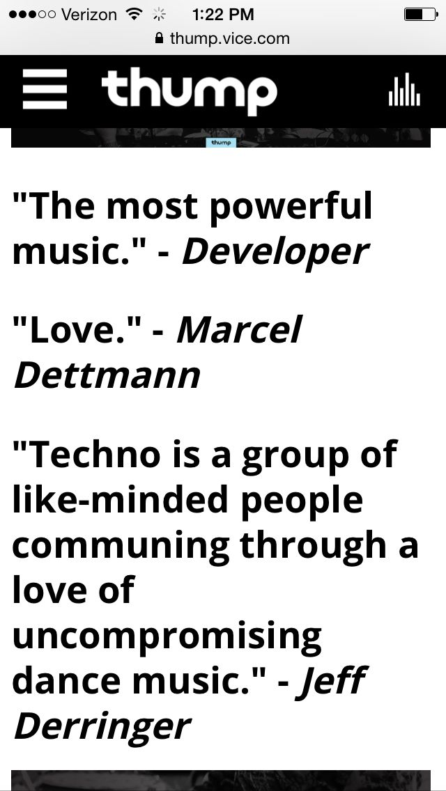 What Does Techno Mean to the Artists of Movement Detroit 2015?