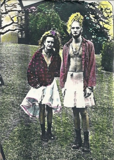 Layne Staley and his muse, Demri Parrott. Grunge perfection.