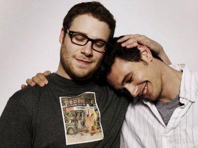 Seth Rogen and James Franco....aww