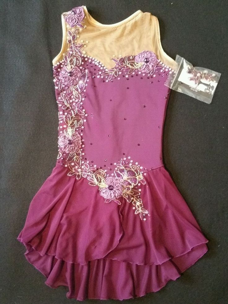 SKATING DRESS NWT COVERED IN RHINESTONES
