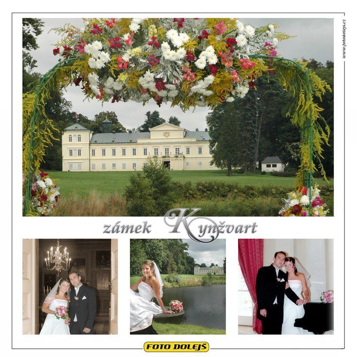 Kynžvart, zámek. Výborné interiery i exteriery. Radost zde fotit svatbu.