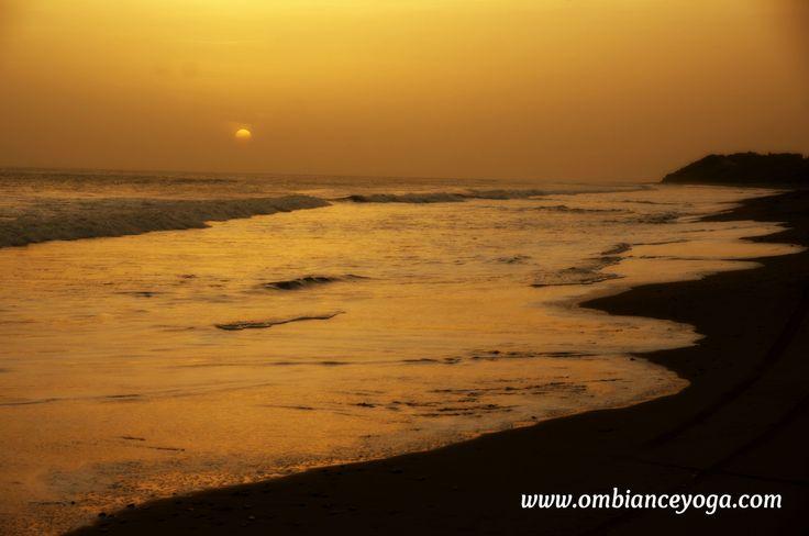 Sunset at Tupilapa Beach, Nicaragua