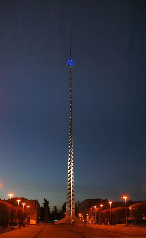 Needle. Wroclaw, Poland