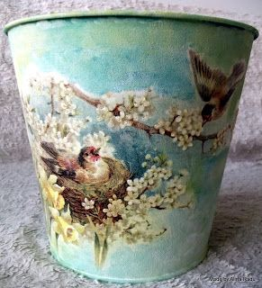 Alina's decoupage world: Birds & Flower!!!
