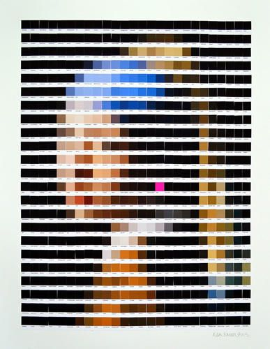 4 | Famous Art Recreated From Pantone Color Chips | Co.Design | business + design