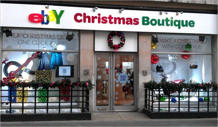 Ebay Christmas Boutique, London - 2011. Online goes into bricks & mortar.