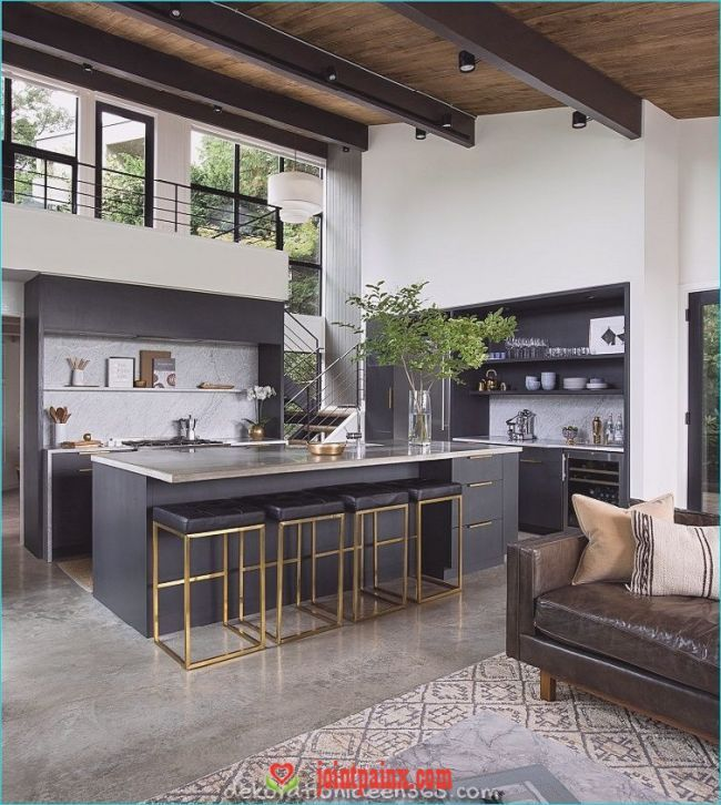 Moderne Kuchen Mit Insel 40 Projekte Von Den Besten Designern Kitchen Interior Interior Design K In 2020 Kuchendesign Modern Moderne Kuchenideen Kucheneinrichtung