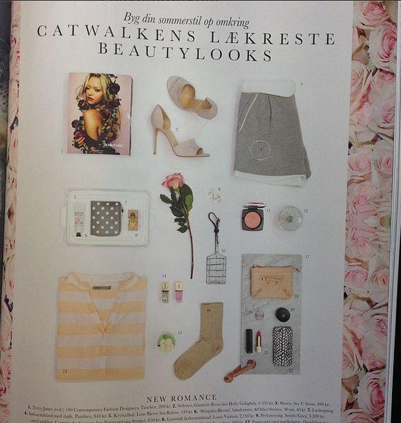 Soaked in Luxury shirt in danish Femina Magazine