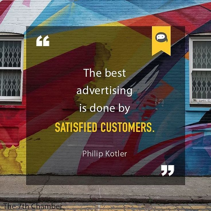The best advertising is done by satisfied customers. Philip Kotler Confira as nossas recomendações! http://www.estrategiadigital.pt/category/livros-marketing-digital/