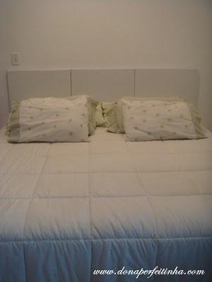 Faça a sua própria cabeceira para cama box (DIY headbed)