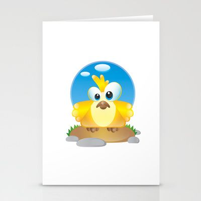 Birdy Nam Nam Stationery Cards by MargoLand - $12.00
