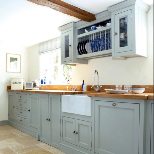Obsessed with the cabinetry and it's color!