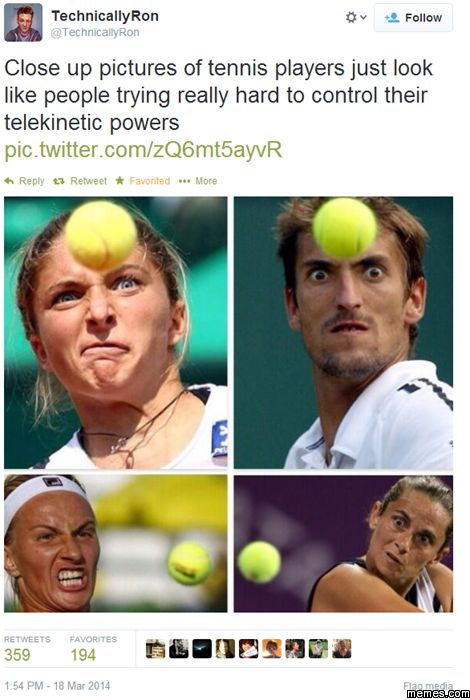 Close up pictures of tennis players | Memes.com