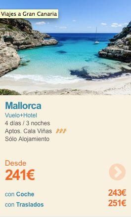 Puente de Mayo en Mallorca desde 241€ Vuelo + Hotel