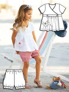 Gingham Girls: 9 New Patterns – Sewing Blog | BurdaStyle.com