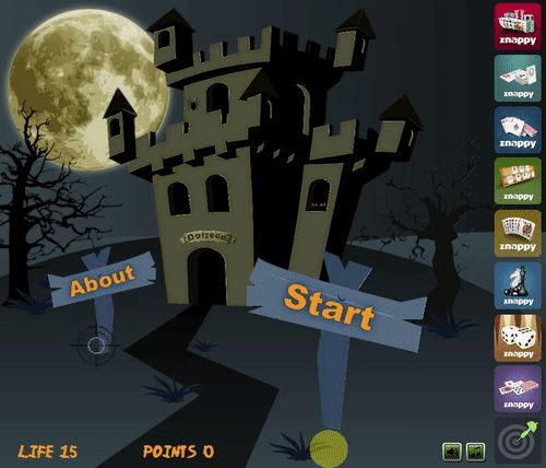 """Play now on Znappy the game """"Halloween Shooter""""!  http://www.doizece.ro/halloween-shooter #ZnappyGames #Halloween #Halloween2017 #Shooter"""