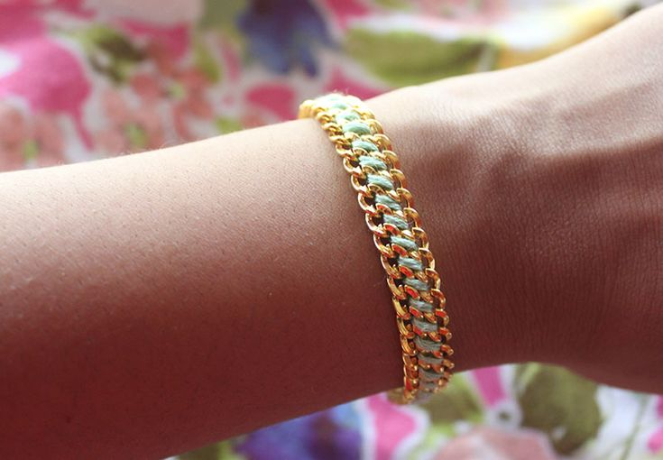 DIY Woven Chain Bracelet | Why Don't You Make Me
