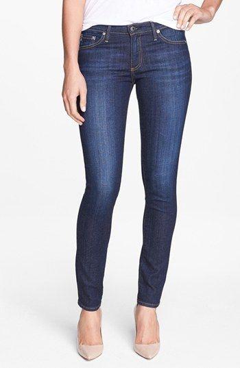 Women's AG 'Stilt' Cigarette Leg Jeans (Free)