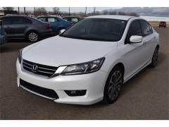 2014 Honda Accord Sport Sedan at Bender CDJ in Clovis, New Mexico.