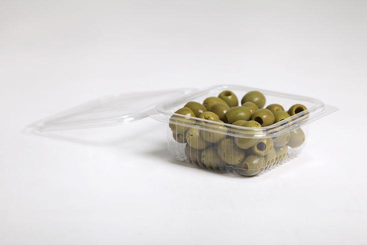 Vaschetta rettangolare trasparente con coperchio - Imballaggi Alimentari Roberto Ridolfi srl