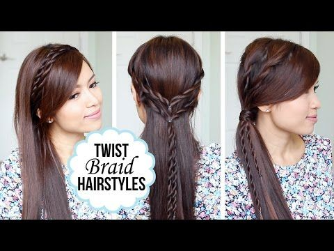 and Easy Hairstyles with a Twist + Giveaway! - YouTube Hair Styles ...