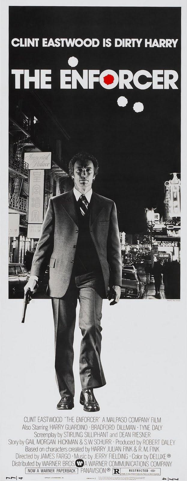 """The Enforcer"" (1976) / Director: James Fargo / Writers: Harry Julian Fink (characters), Rita M. Fink (characters) / Stars: Clint Eastwood, Tyne Daly, Harry Guardino # still"