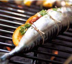 Gevulde makreel van de bbq, lekker op een zomerse dag deze gevulde makreel van d… – bbq