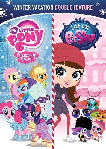 Winter Vacation Double Feature: My Little Pony - Friendship Is Magic/The Littlest Pet Shop [DVD]