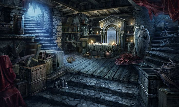 Worship Cellar scene by Tai-atari.deviantart.com on @deviantART