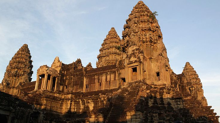 Laser technologies have uncovered a vast network of hidden cities surrounding Cambodia's famous Angkor Wat temples that reveals the Khmer empire could have been the largest in the world at its time.