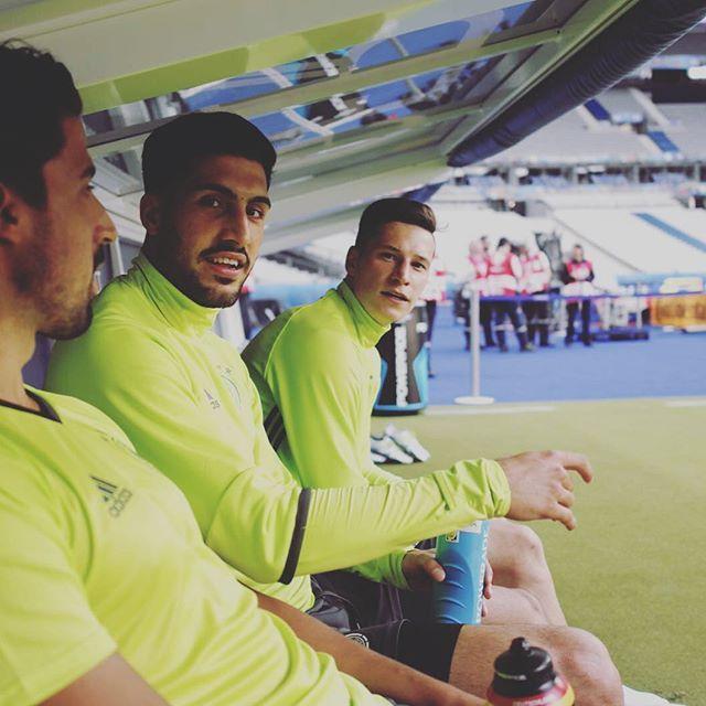 Pin for Later: Hier findet ihr die deutsche Fußballmannschaft auf Instagram Julian Draxler