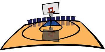 Basketbal, Hřiště Na Basketbal