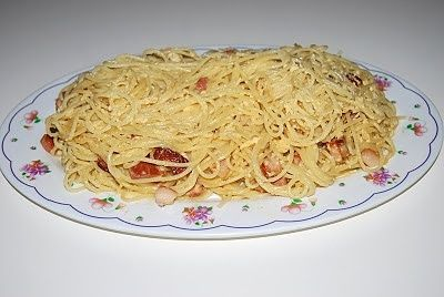 Spaghetti carbonarra