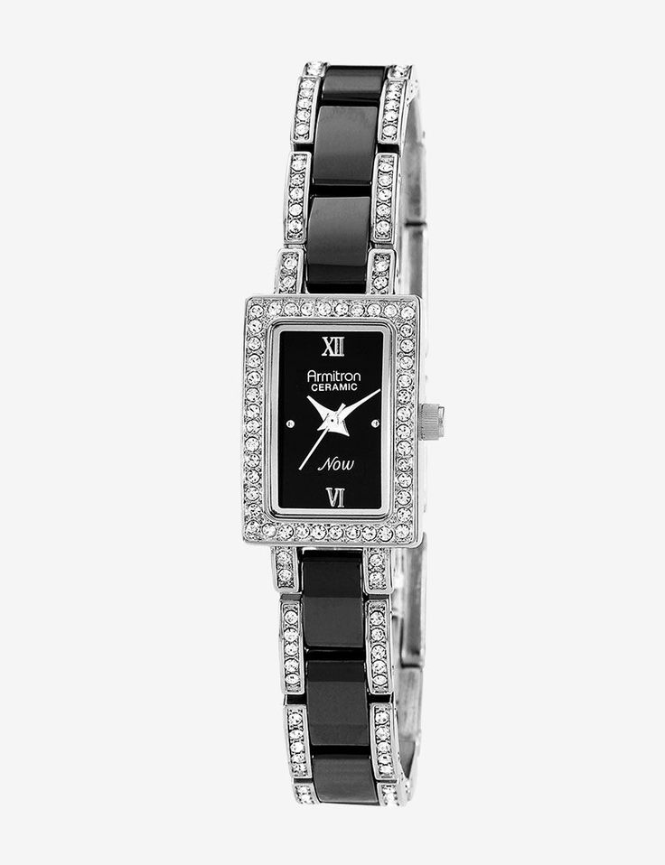 Shop today for Armitron Swarovski Crystal Accented Black Ceramic Bracelet Watch & deals on YES! Your Everyday Savings! Official site for Stage, Peebles, Goodys, Palais Royal & Bealls.