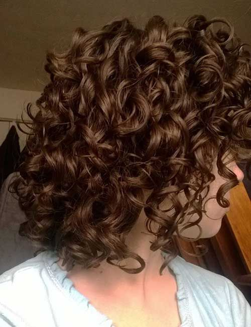 25 Best Curly Short Hairstyles 2014- 2015 | http://www.short-haircut.com/25-best-curly-short-hairstyles-2014-2015.html